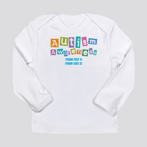 Personalize Autism Awareness Long Sleeve Infant T-