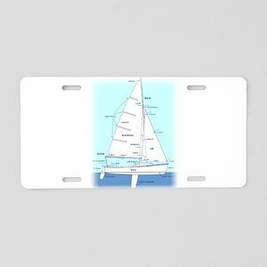 SAILBOAT DIAGRAM (technical design) Aluminum Licen