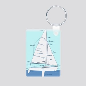 SAILBOAT DIAGRAM (technical design) Aluminum Photo