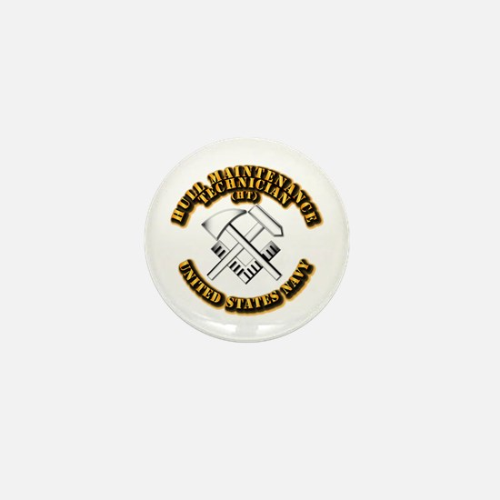 Navy - Rate - HT Mini Button