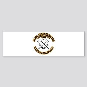 Navy - Rate - HT Sticker (Bumper)