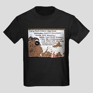 Die Free Mother Fucker Kids Dark T-Shirt