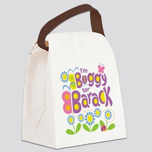 Buggy for Barack Canvas Lunch Bag