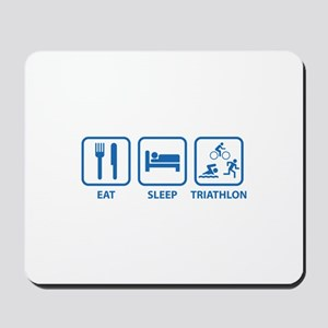 Eat Sleep Triathlon Mousepad
