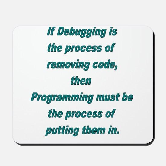 Debugging and Programming Mousepad