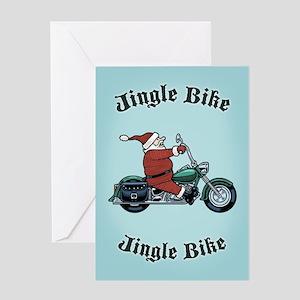 Jingle Bike Greeting Card