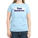Team Sugartits Women's Pink T-Shirt