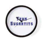 Team Sugartits Wall Clock