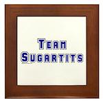 Team Sugartits Framed Tile