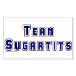 Team Sugartits Rectangle Sticker