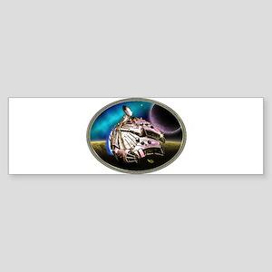 Super Tuned Falcon Sticker (Bumper)