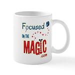 Focused on the Magic.com Mug