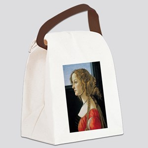 Portrait of Simonetta Vespucci Canvas Lunch Bag