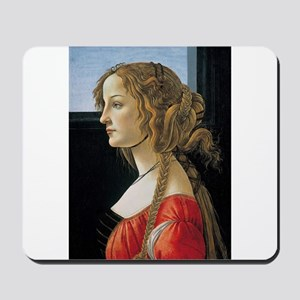 Portrait of Simonetta Vespucci Mousepad