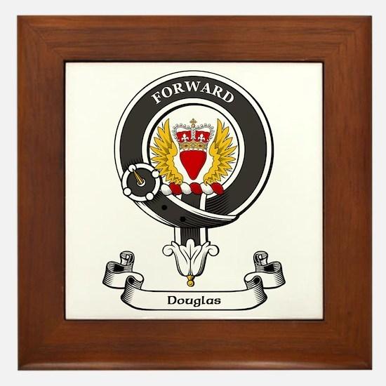 Badge-Douglas [Dumfries] Framed Tile
