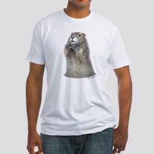 emerging groundhog Fitted T-Shirt