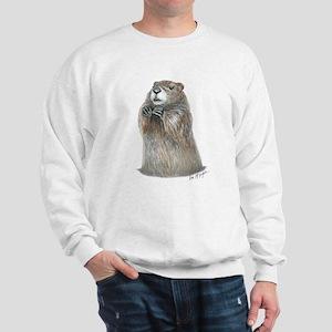 emerging groundhog Sweatshirt