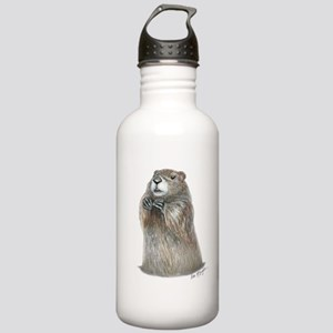 emerging groundhog Stainless Water Bottle 1.0L