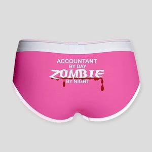 Accountant Zombie Women's Boy Brief
