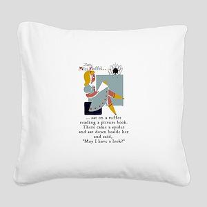 arlingtongreggmuffettwpa Square Canvas Pillow