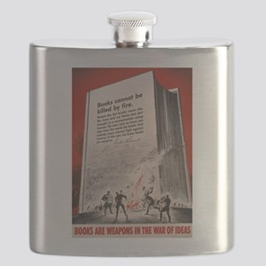 booksweapons Flask
