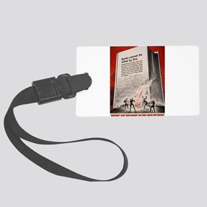 booksweapons Large Luggage Tag