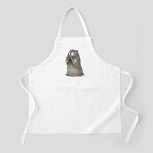 emerging groundhog Apron