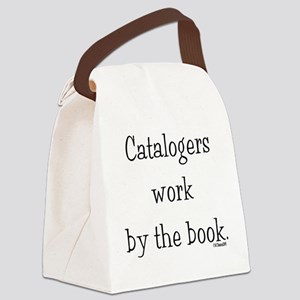 catalogers-book Canvas Lunch Bag
