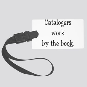 catalogers-book Large Luggage Tag