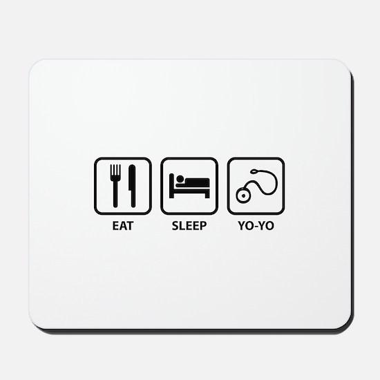 Eat Sleep Yo-Yo Mousepad