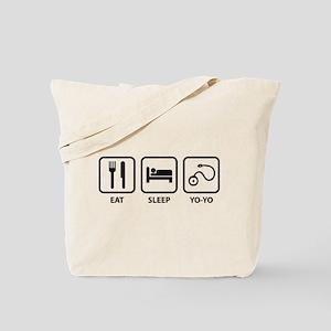 Eat Sleep Yo-Yo Tote Bag