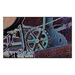 Solar Steampunk Sticker (Rectangle 10 pk)