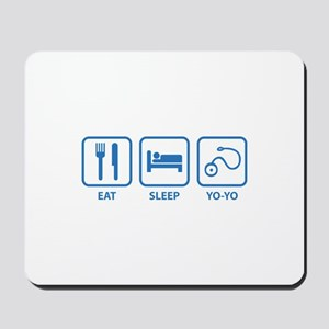 Eat Sleep Yo-Yo Mousepad