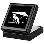 Kokopelli Hang Glider Keepsake Box