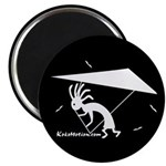 Kokopelli Hang Glider Magnet