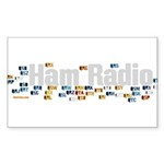 prosigns2withXparency Sticker (Rectangle 10 pk)