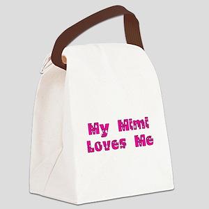 mimipinkohmygodstarstrans Canvas Lunch Bag