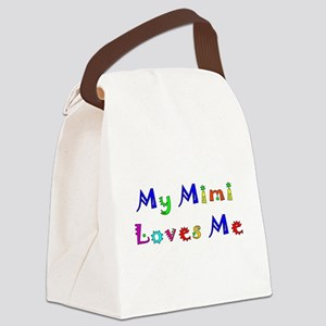 mimijokermanmulti Canvas Lunch Bag