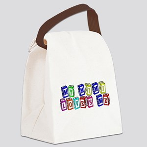 mimimultiblocks Canvas Lunch Bag