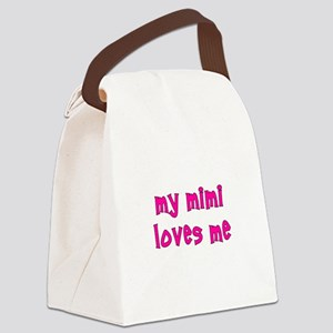 mimipinkpoornut Canvas Lunch Bag