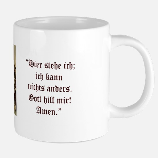 Luther at Worms (German) Mugs