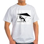 Kokopelli Hang Glider Ash Grey T-Shirt