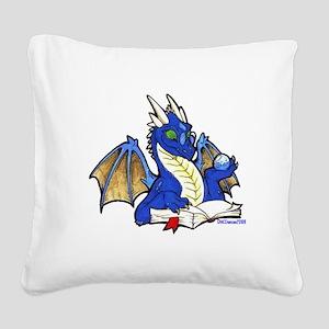 bluebook1 Square Canvas Pillow