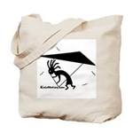 Kokopelli Hang Glider Tote Bag