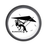 Kokopelli Hang Glider Wall Clock