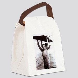 valentinoswimsuit Canvas Lunch Bag