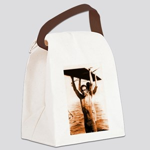 valentinoswimsuitbronze Canvas Lunch Bag