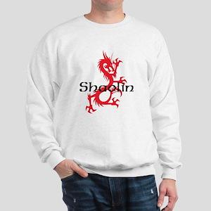 Shaolin Red Dragon Tee Sweatshirt