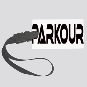 parkour2 Large Luggage Tag