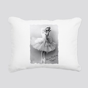 AnnaPavlova_Cygne Rectangular Canvas Pillow